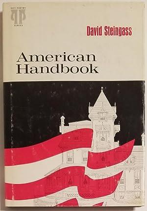 AMERICAN HANDBOOK Poems: Steingass, David