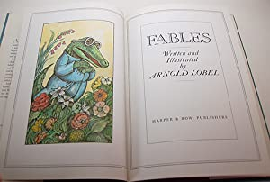 FABLES. Written and illustrated by Arnold Lobel: Lobel, Arnold