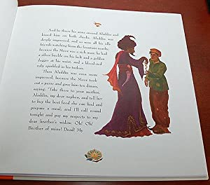 ALADDIN AND THE ENCHANTED LAMP. Retold by Philip Pullman and Illustrated by Sophy Williams: Pullman...