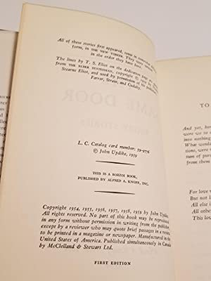 THE SAME DOOR Stories: Updike, John