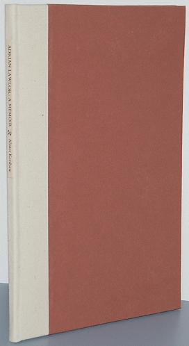 ADRIAN LAWLOR: A Memoir: Kershaw, Alister
