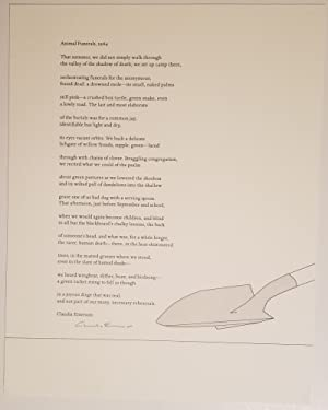 ANIMAL FUNERALS, 1964 A Poem