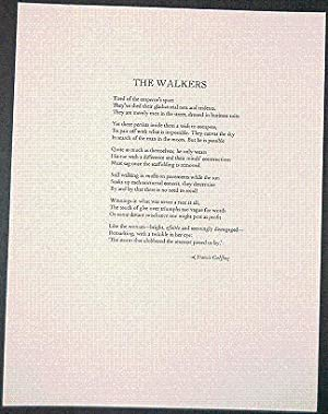 THE WALKERS A Poem: Golffing, Francis