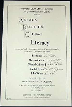 AUTHORS & BOOKSELLERS CELEBRATE LITERACY