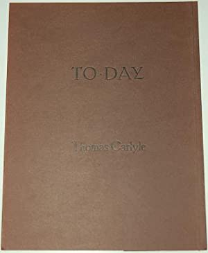 TO-DAY A Poem