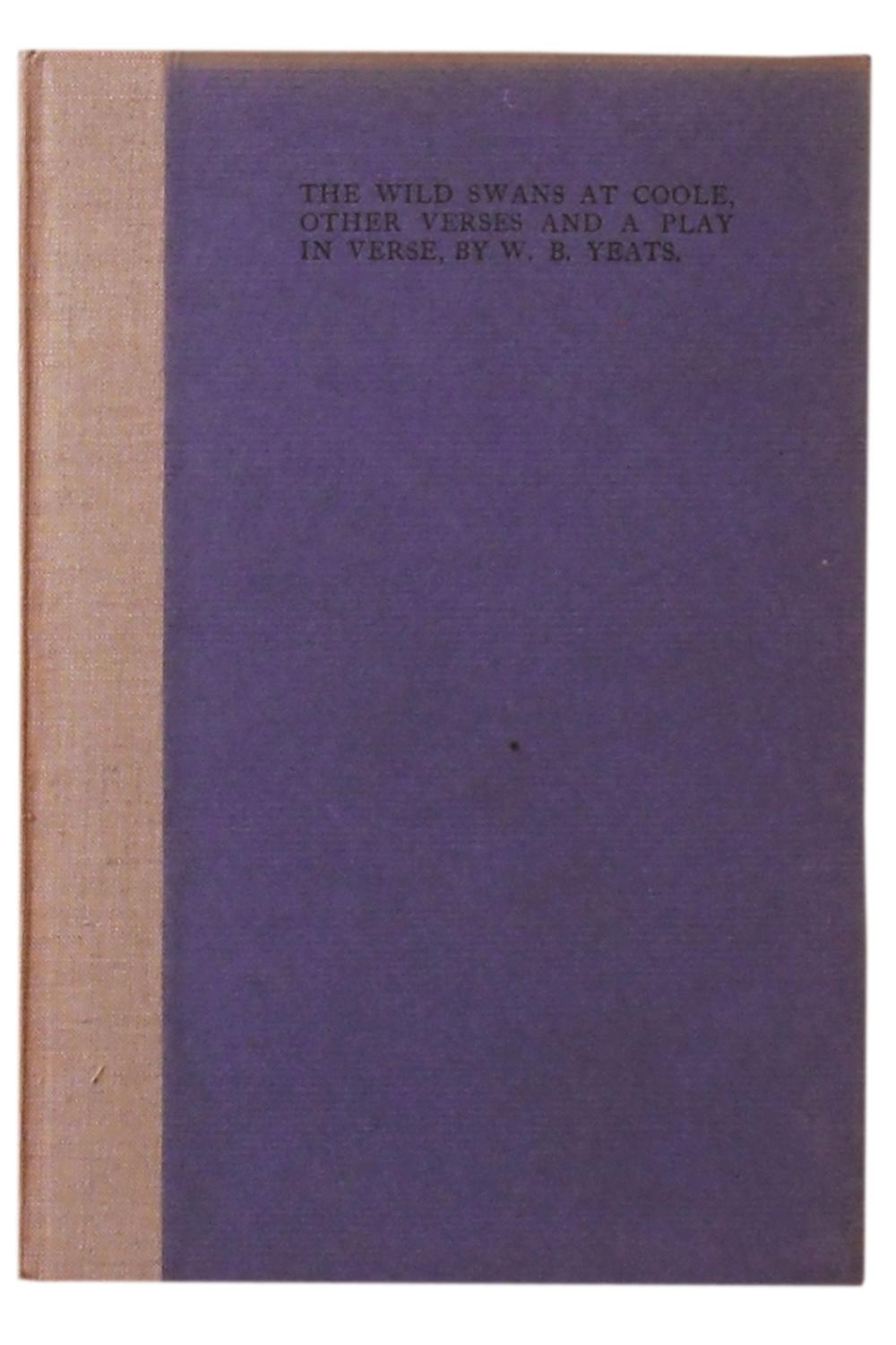 The Wild Swans at Coole by Yeats - AbeBooks