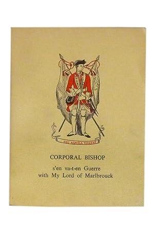Corporal Bishop s'en va-t-en Guerre wuth My: Sette of Odd