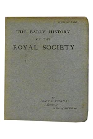 The Early History of the Royal Society: Sette of Odd
