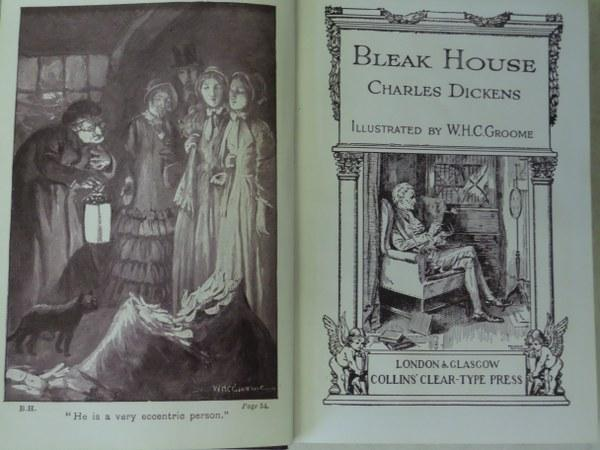 Bleak House: Dickens, Charles. Illustrated By W.H.C. Groome: