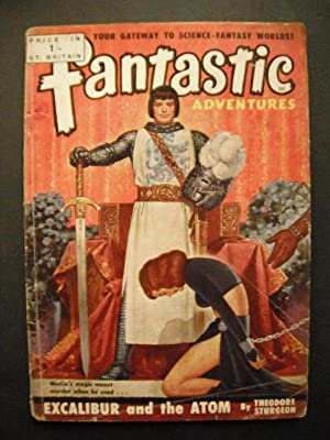 Fantastic Adventures No. 15 (Including Excalibur and the Atom by Theodore Sturgeon)): n/a: