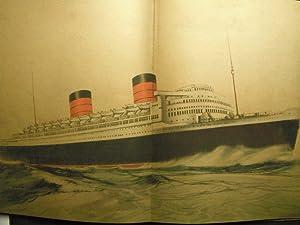 Cunard White Star: Launch of Queen Elizabeth: n/a: