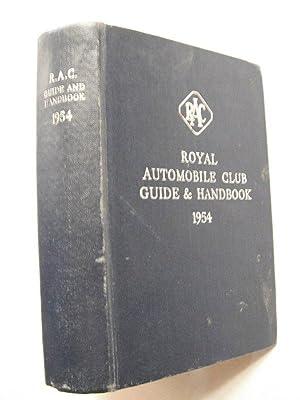 Royal Automobile Club Guide & Handbook 1954: n/a: