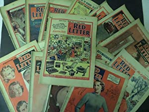 Red Letter Magazine: 17 Issues (1951 x 9, 1954 x 2, 1955 x 3, 1956 x , 1962 x 1 & 1963 x 1 ): n...