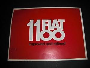 Fiat 1100 Promotional Brochure: n/a: