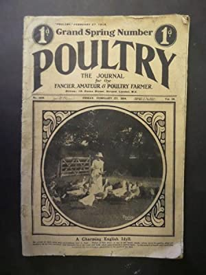 Poultry: Grand Spring Number Fri Feb 27, 1914