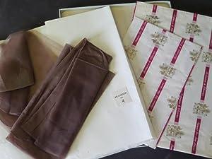 Pair of c1950's Christian Dior Silk Miss Dior Stockings (75): n/a: