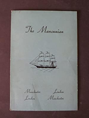 The Mancunian: Menu & WIne List (with: n/a:
