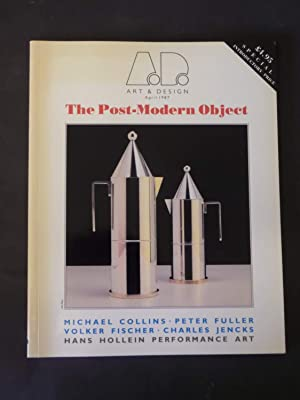Art & Design, April 1987: The Post-Modern: n/a:
