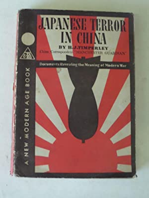 Japanese Terror in China: H.J. Timperley