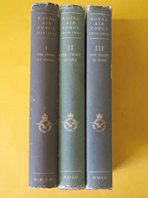 denis richards - royal air force 1939 1945 3 volume set
