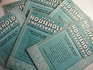 The New Household Encyclopedia for Home Handyman & Housewife: Complete Set of 52 Issues: n/a: