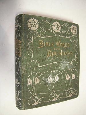 bible words birthdays abebooks