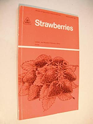 Strawberries: Ministry of Agriculture, Fisheries and Food Reference Book 95