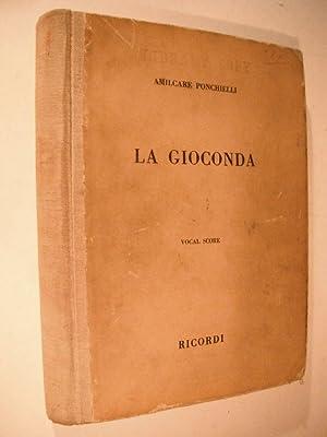 La Gioconda: An Opera in Four Acts (Vocal Score): Ponchielli, Amilcare: