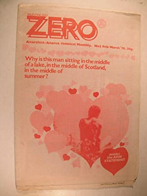 Zero (Anarchist/Anarca Feminist Magazine): No. 5, Feb/Mar 1978: n/a