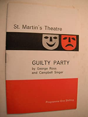St. Martin's Theatre Programme: Donald Sinden in: Ross, George &