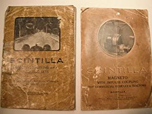 2 Scintilla Manuals: Electric Lighting and Starting: n/a: