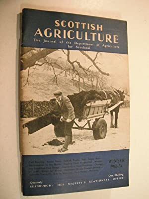 Scottish Agriculture (The Journal of the Department of Agriculture for Scotland): Winter 1953-54