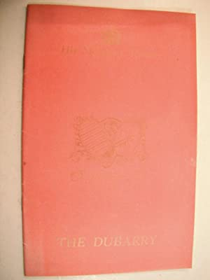 His Majesty's Theatre Programme: The Dubarry (Starring: Knepler, Paul &