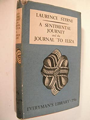 A Sentimental Journey and the Journal to: Sterne, Laurence: