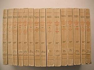 A La Recherche Du Temps Perdu: Complete: Proust, Marcel: