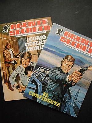 Agente Secreto, Revista grafica mensual para adultos: 2 Issues (El Confidente & Como Quirres ...
