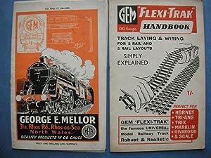 Gem Scale Model Railways 00 & TT Gauges Catalogue (plus Gem 'Flexi-Trak' Handbook): n...