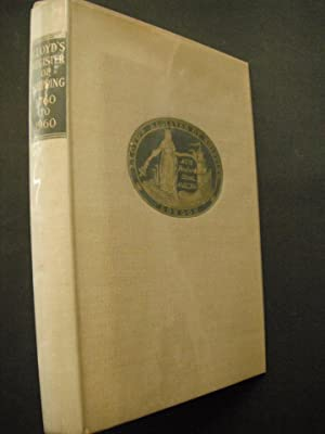 Lloyd's Register of Shipping 1760-1960: Blake, George. Illustrated