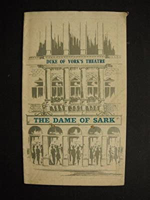 Duke of York's Theatre Programme: The Dame of Sark, 1974 (Starring Anna Neagle, Tony Britton &...