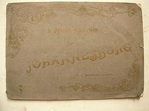 A Photo Souvenir of Johnannesburg: Jensen, L. Bernard: