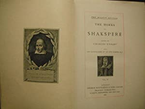 The Works of Shakspere (Shakespeare): The Mignon Edition: 6 Volume Set (LIMITED EDITION): Charles ...