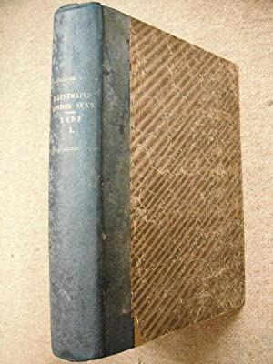 The Illustrated London News: 1893 Vol. I.: n/a:
