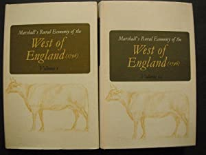 Marshall's Rural Economy of the West of England (1796): 2 Volume Set