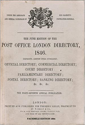 Post Office London Directory, W. Kelly &: Kelly, Frederick