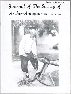 Journal of the Society of Archer-Antiquaries, Vol.: Various