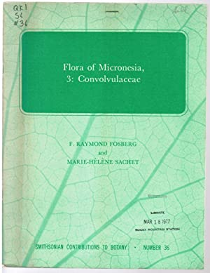 Flora of Micronesia, 3: Convolvulaceae [Part 3: Fosberg, F. Raymond