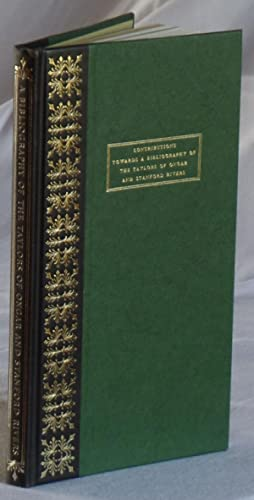 Contributions Towards a Bibliography of the Taylors of Ongar and Stnford Rivers