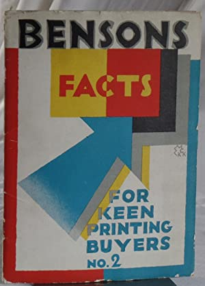 Benson's Facts for Keen Printing Buyers No. 2