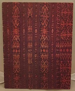 Ikats from South East Asia: Burkett, M. E.
