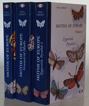Moths of Europe, Vol 1 Saturnids, Lasiocampids,: Leraut, P